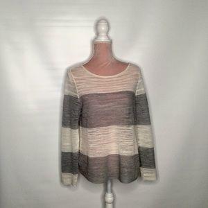 Eileen Fisher linen knit top.